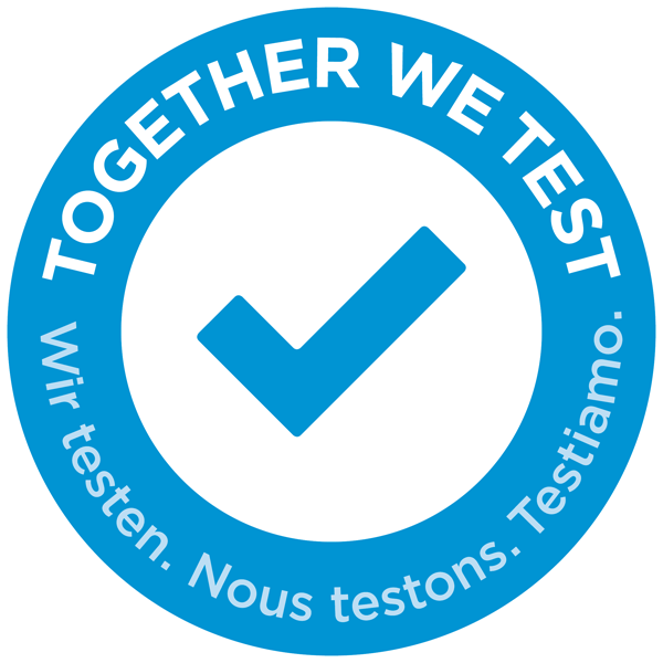 Together we test